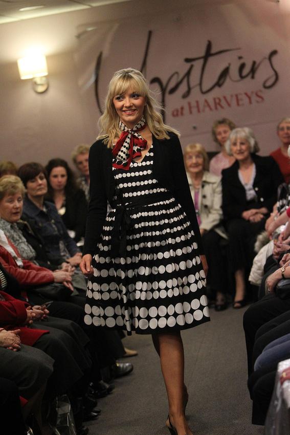 Fashion shows at Harvey's of Halifax