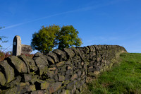 Walking trails and dry stone walls