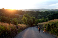 Sunset walks, near Ripponden