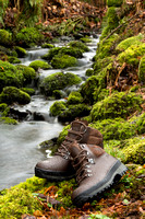 Berghaus boots in natural environment