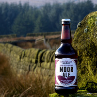 Little Valley Moor Ale, with dry stone wall