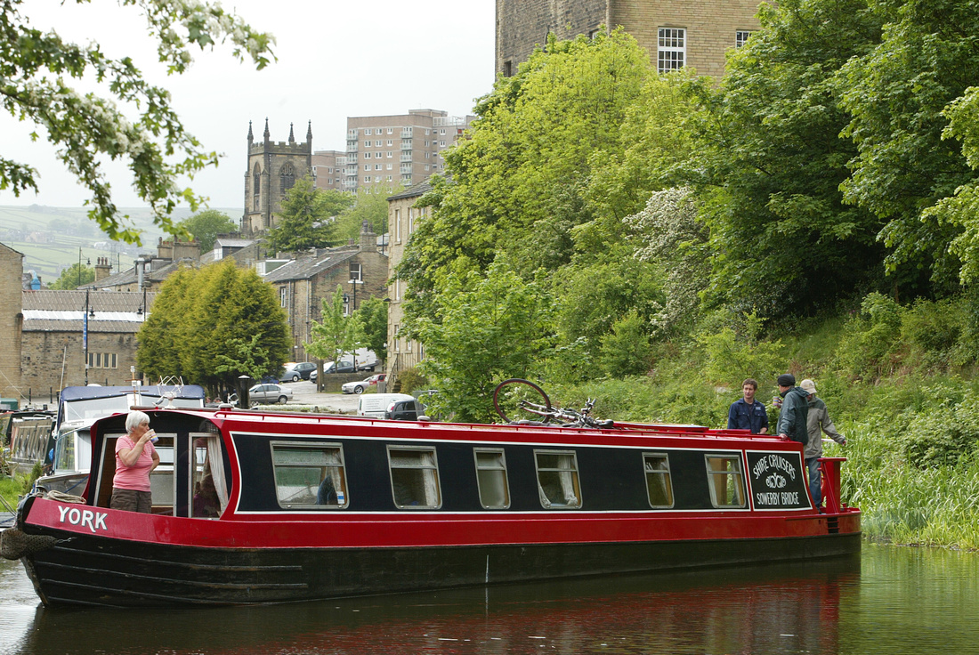 Shire Cruises, on the canal, Sowerby Bridge